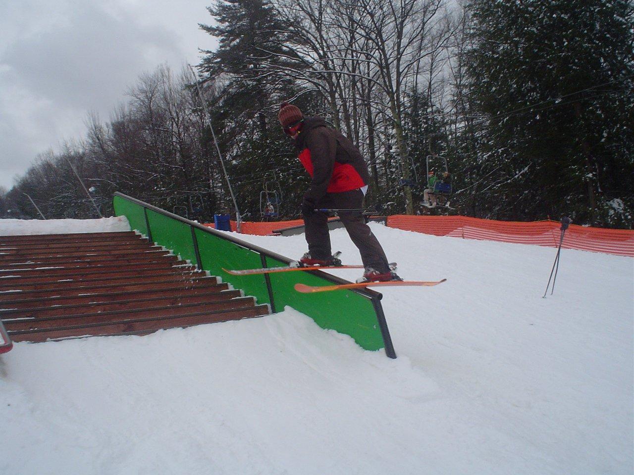 Handrail at pats