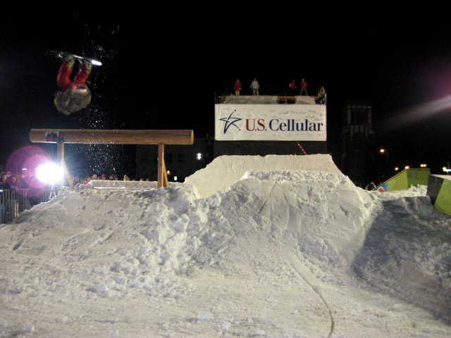 A Jib Contest Our Crew Built