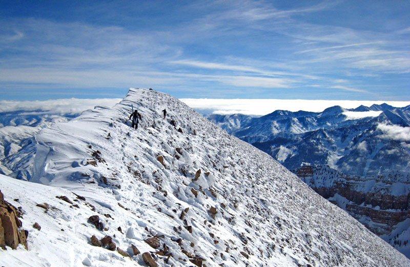 Timp ridgeline today