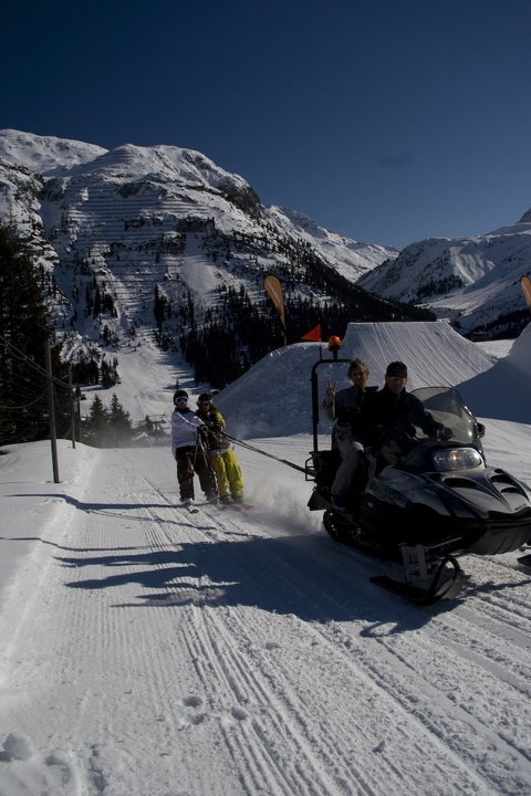 Snowmobiles are awesome