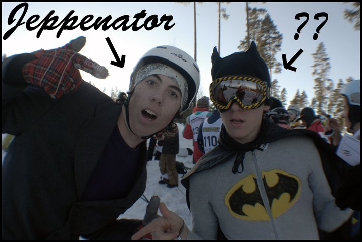 Me and batman?