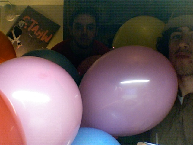 Room full of Ballons