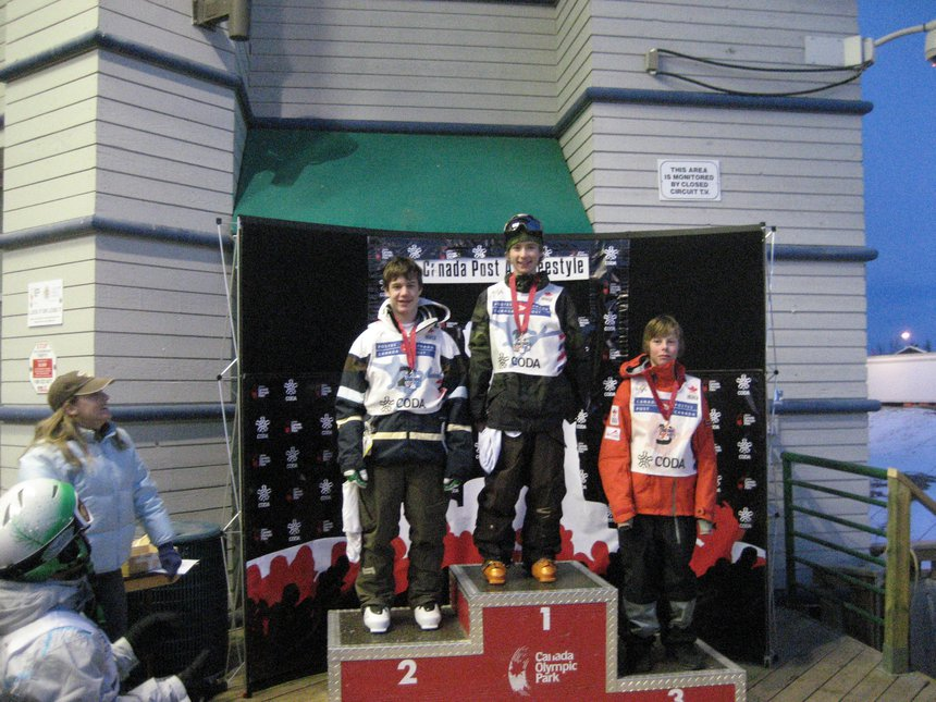 2nd in moguls