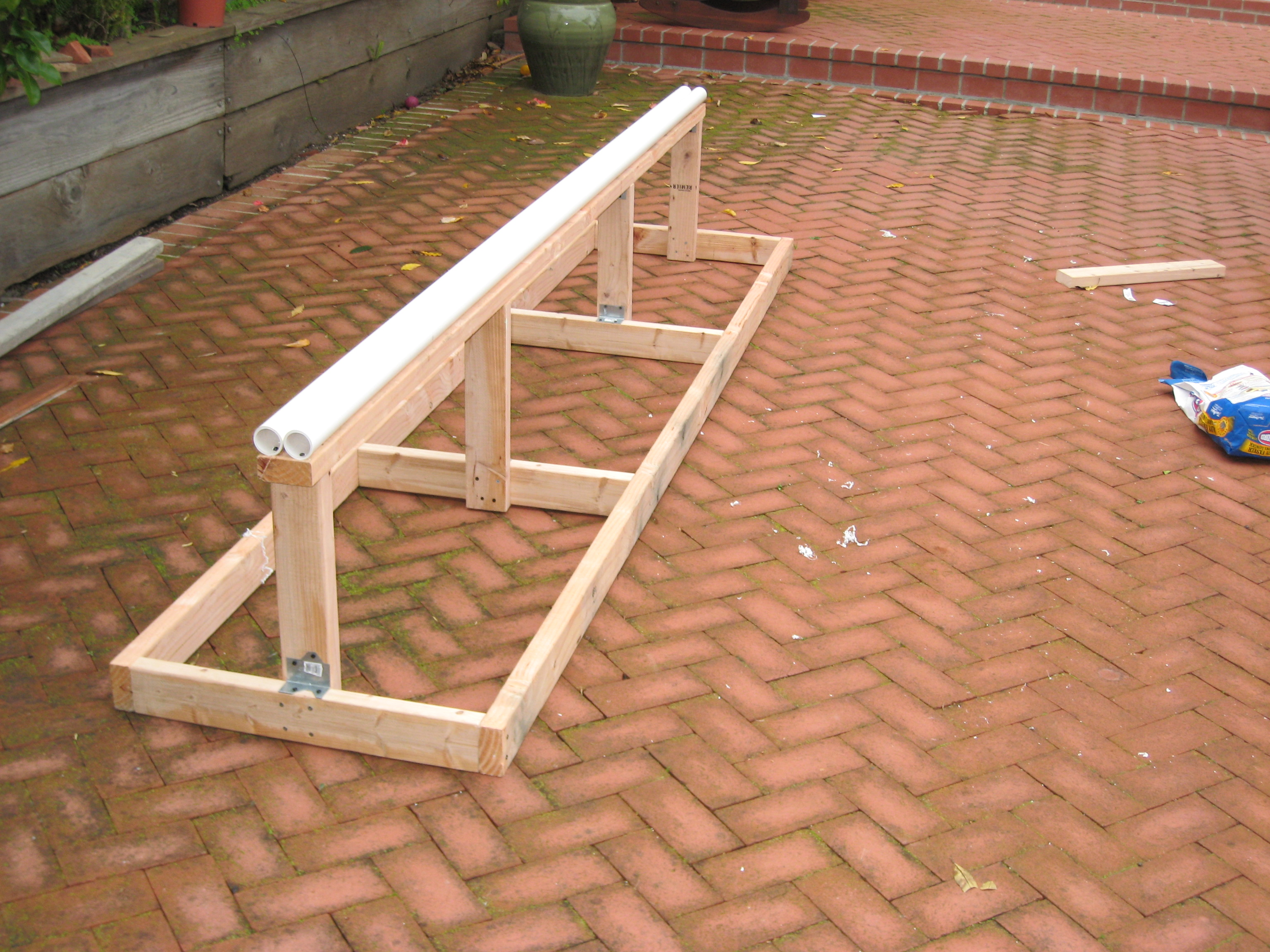 Double barrel rail