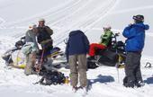 Our Sled Ski Crew