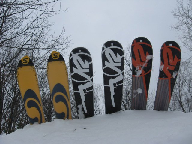 The skis