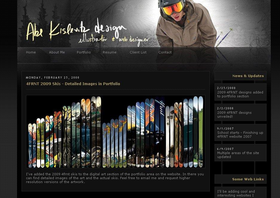 Website updated