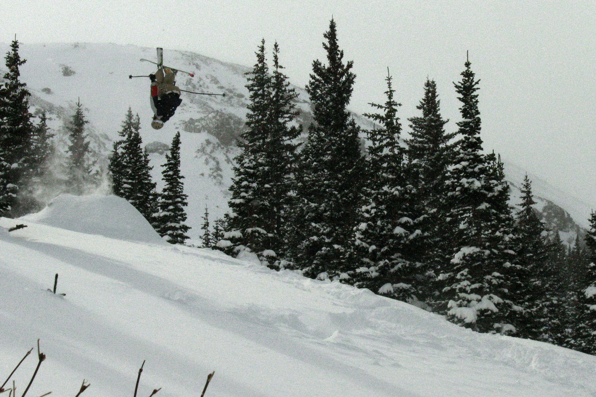 Backflips in the Backcountry at Breckenridge