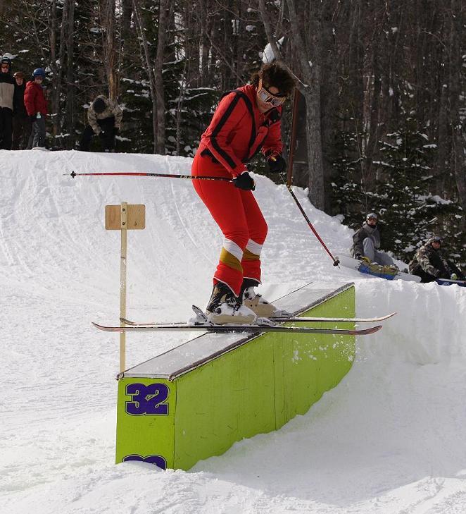 Michael Jackson on the slopes !