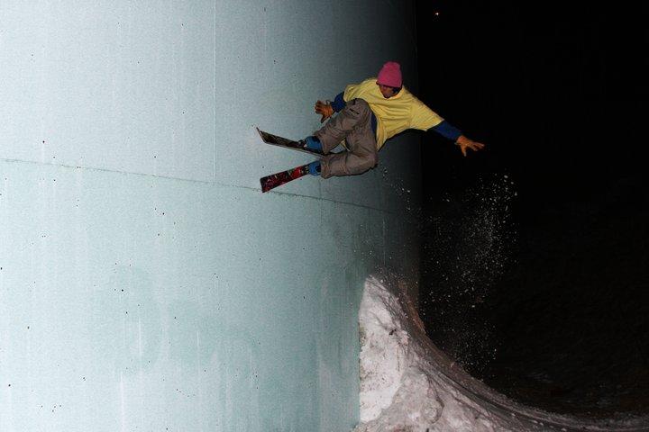 Watertower wall ride