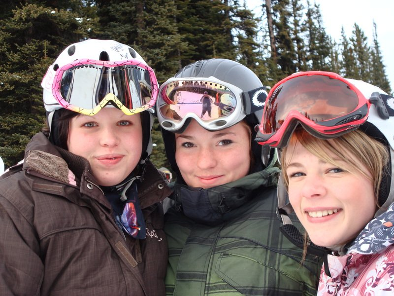 Me, hayley and erin..ALBERTA WINTER GAMES 2008 QUALIFICATIONS