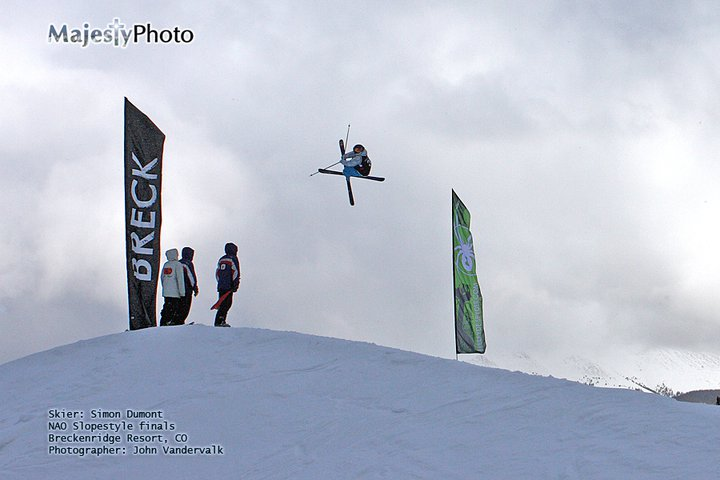 Simon Dumont NAO 6th place