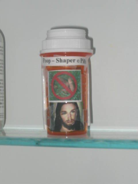 Poop shaper pills