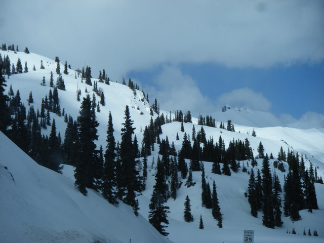 Red Mountain Pass BC