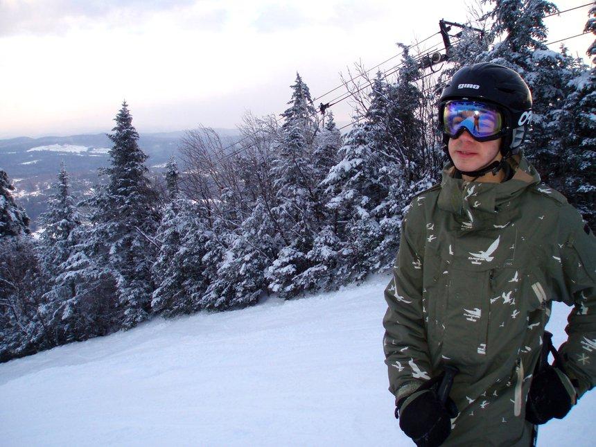 Skiing at Okemo