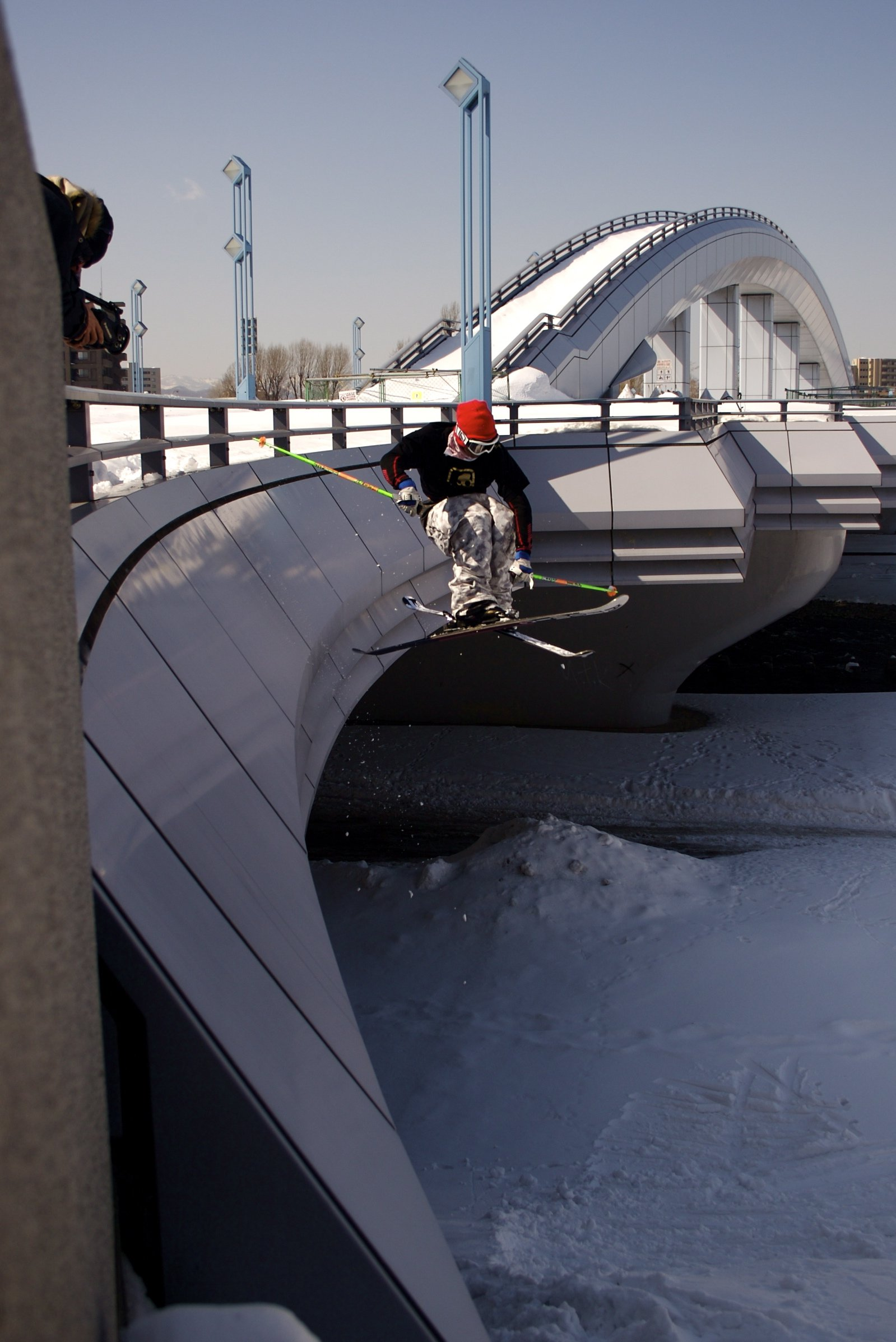 Portland Oregon's sister bridge in Sapporo