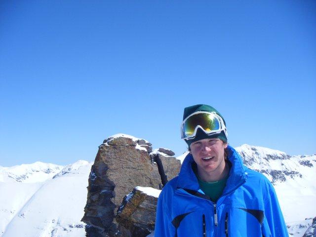On top on Palmyra Peak