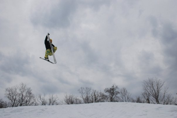 Eating my Ski