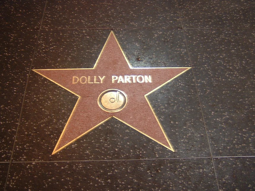 Walk of Fame - Dolly Parton