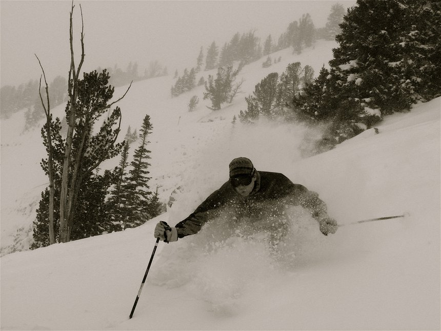 Jackson hole powder