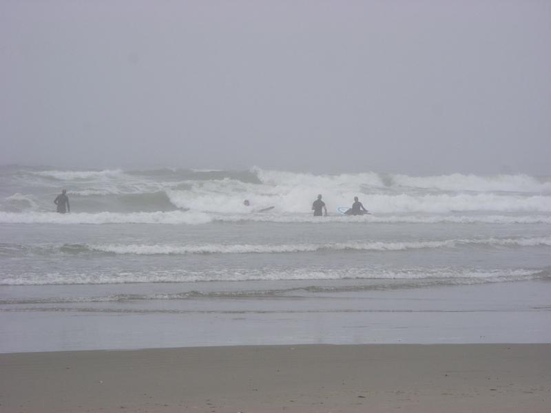 Surfing - Beach between Ucluelet and Tofino, Van. Island