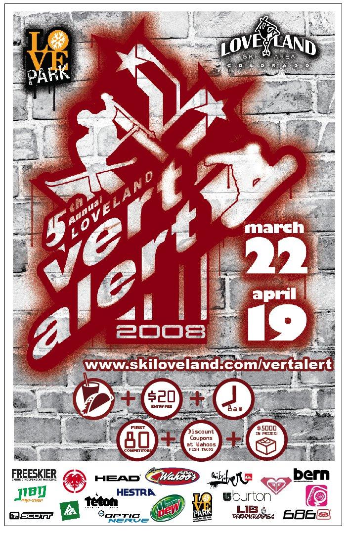Love Park's 5th Annual Vert Alert