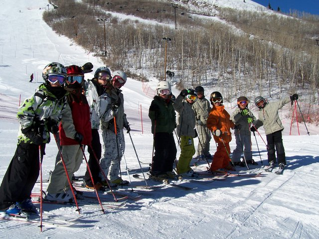 Skiing with Axis