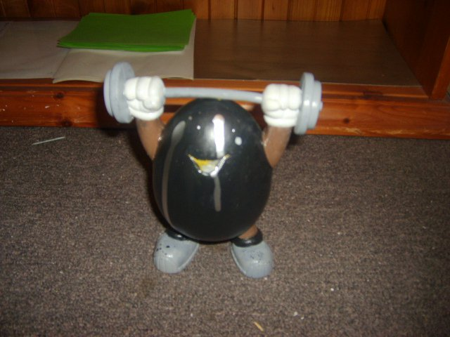 Body Builder Custom M & M Character
