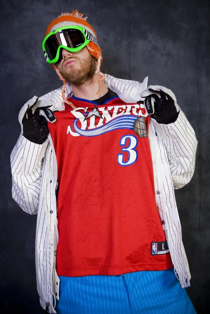 Sixers represent!! poor ol' iverson