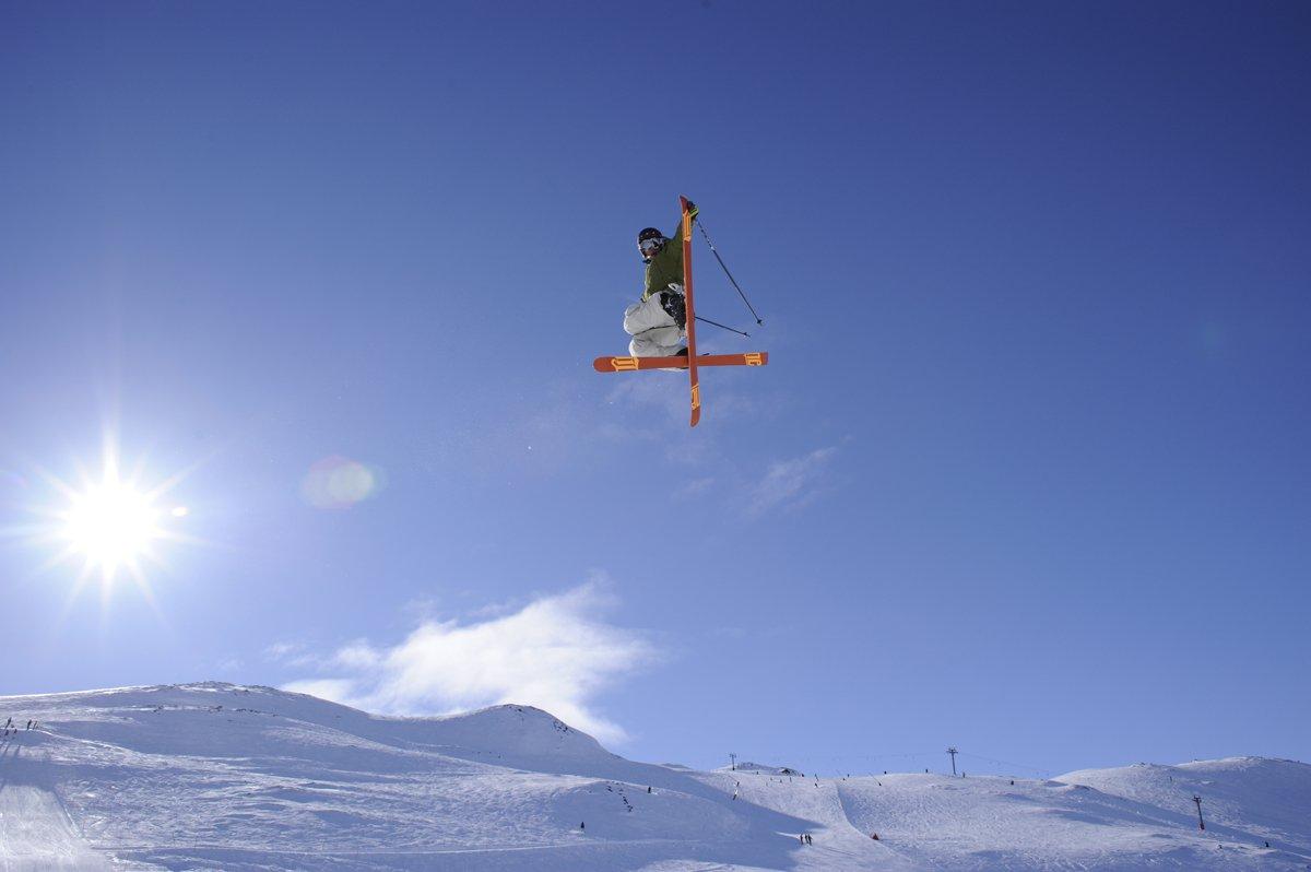 The Puma jump in Hemsedal