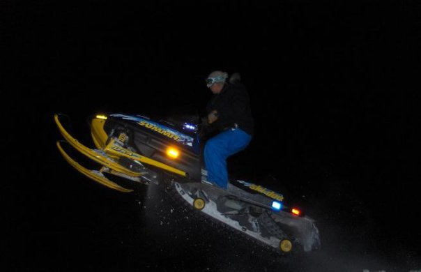 Jumpin the sled