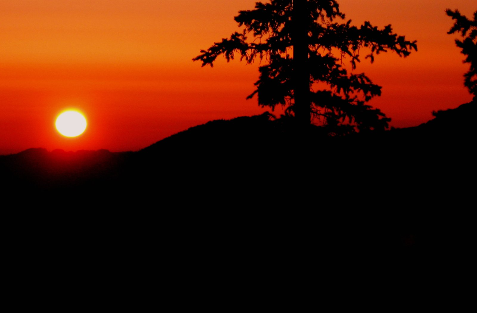 Sunrise in Rock Mountain National Park