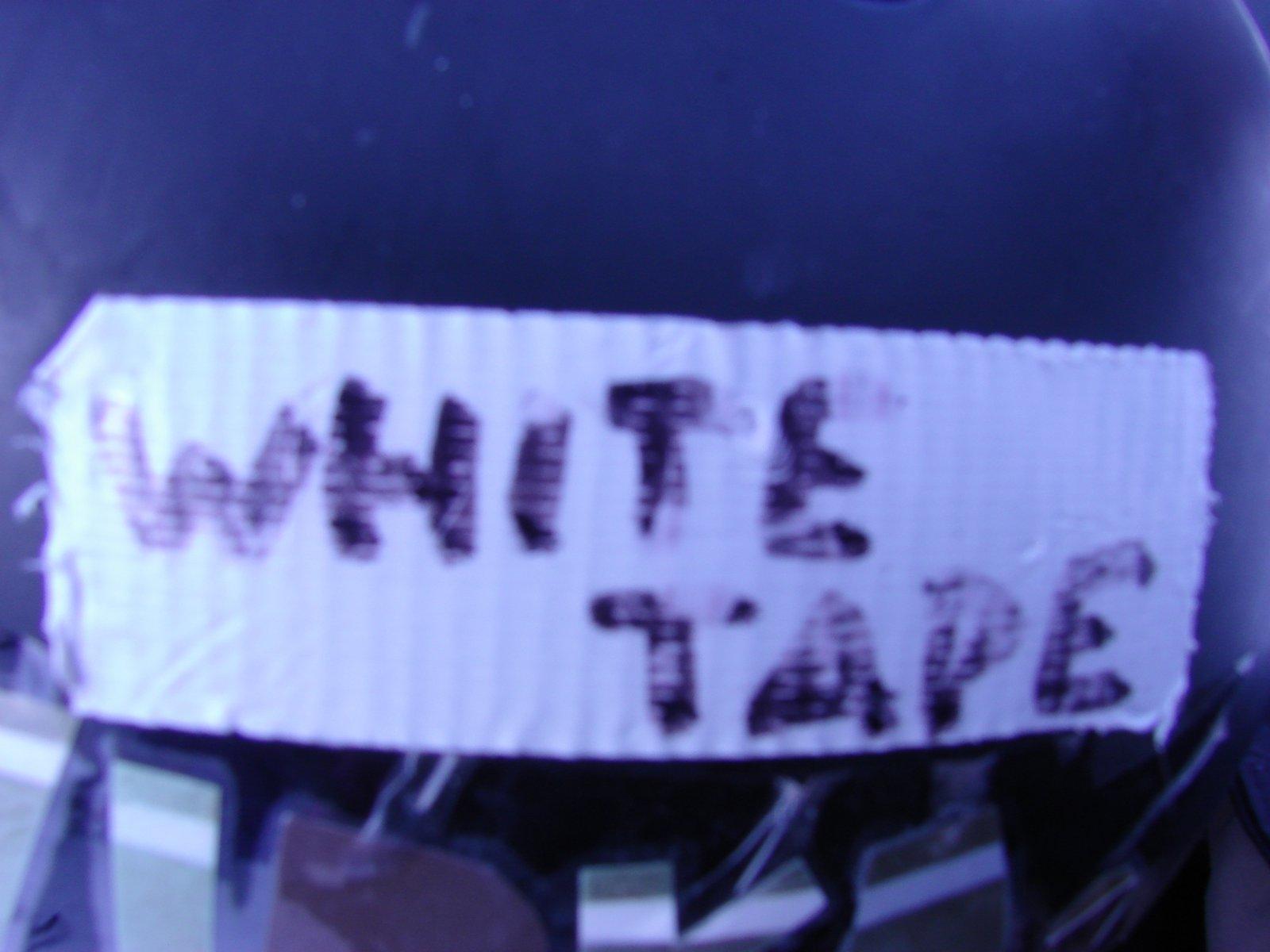 Whitetape fo real