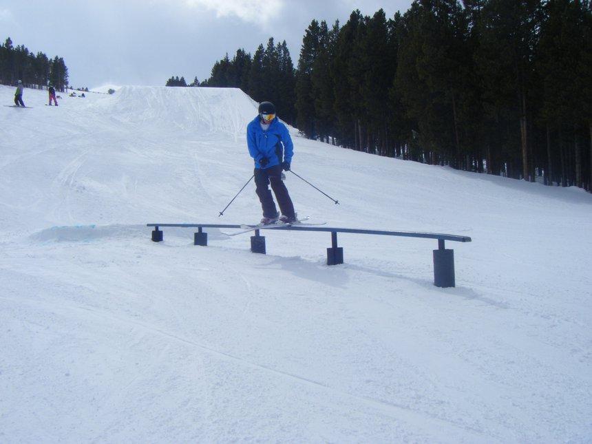 Rail at breck