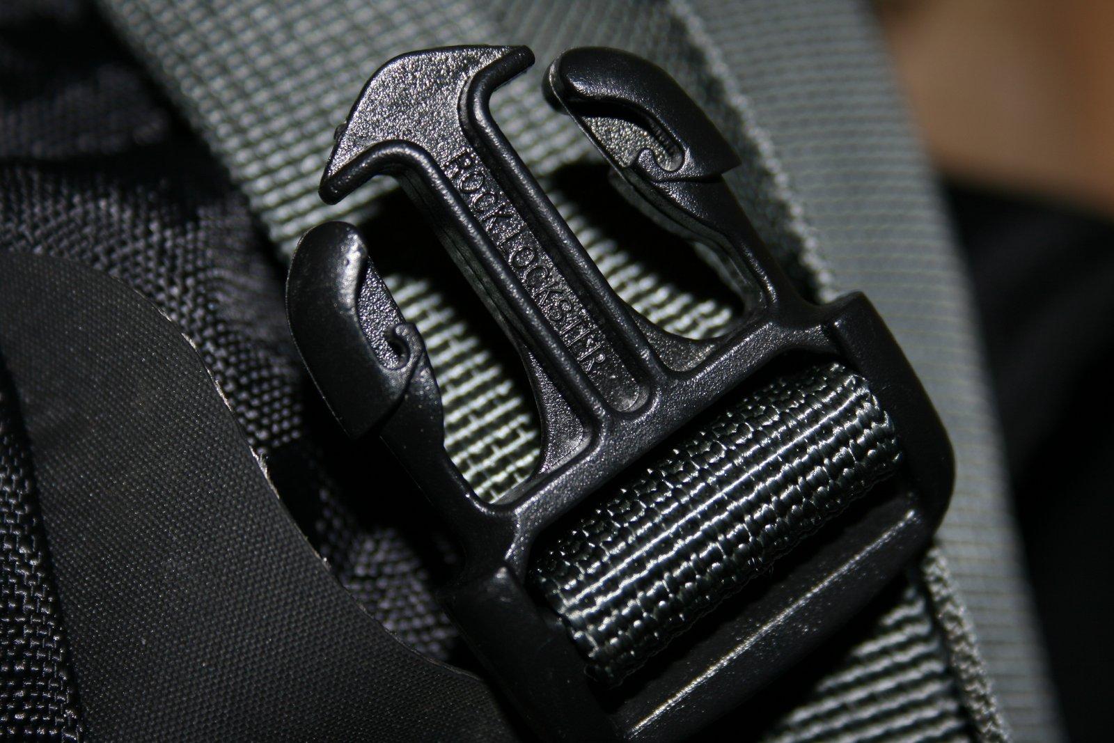Backpack Buckle Closeup