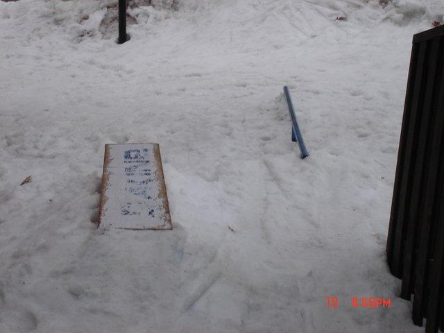 Our backyard setup