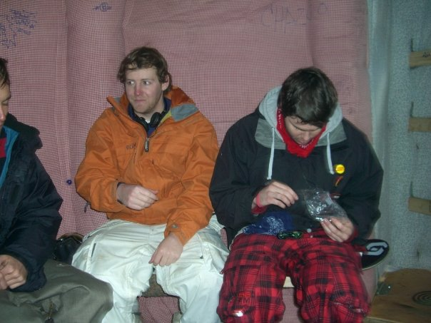 Inside sickest hut ever