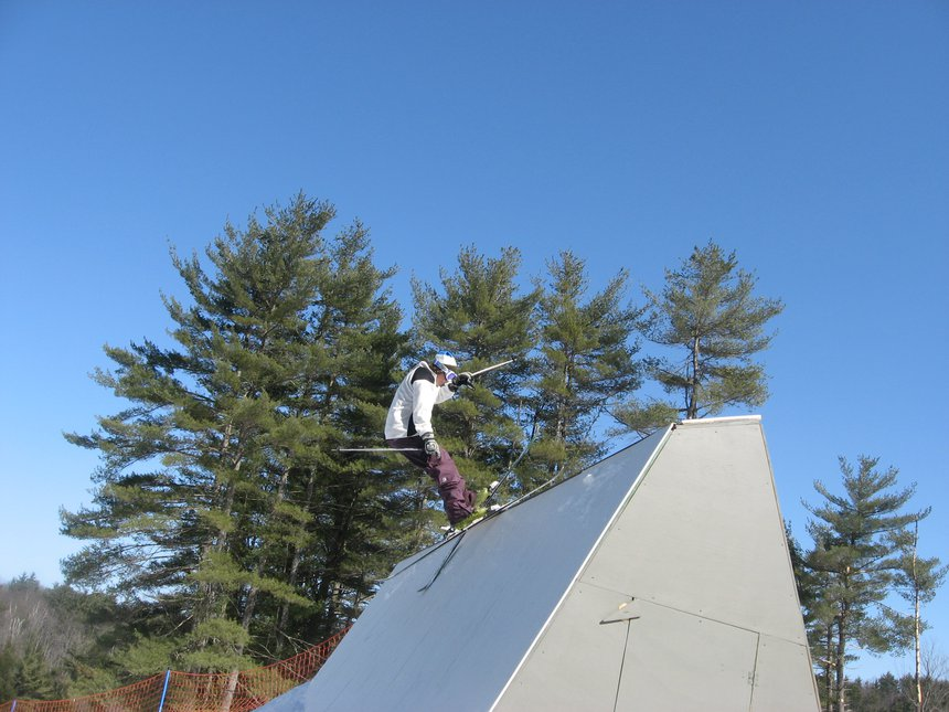 Steeze slide up then stall