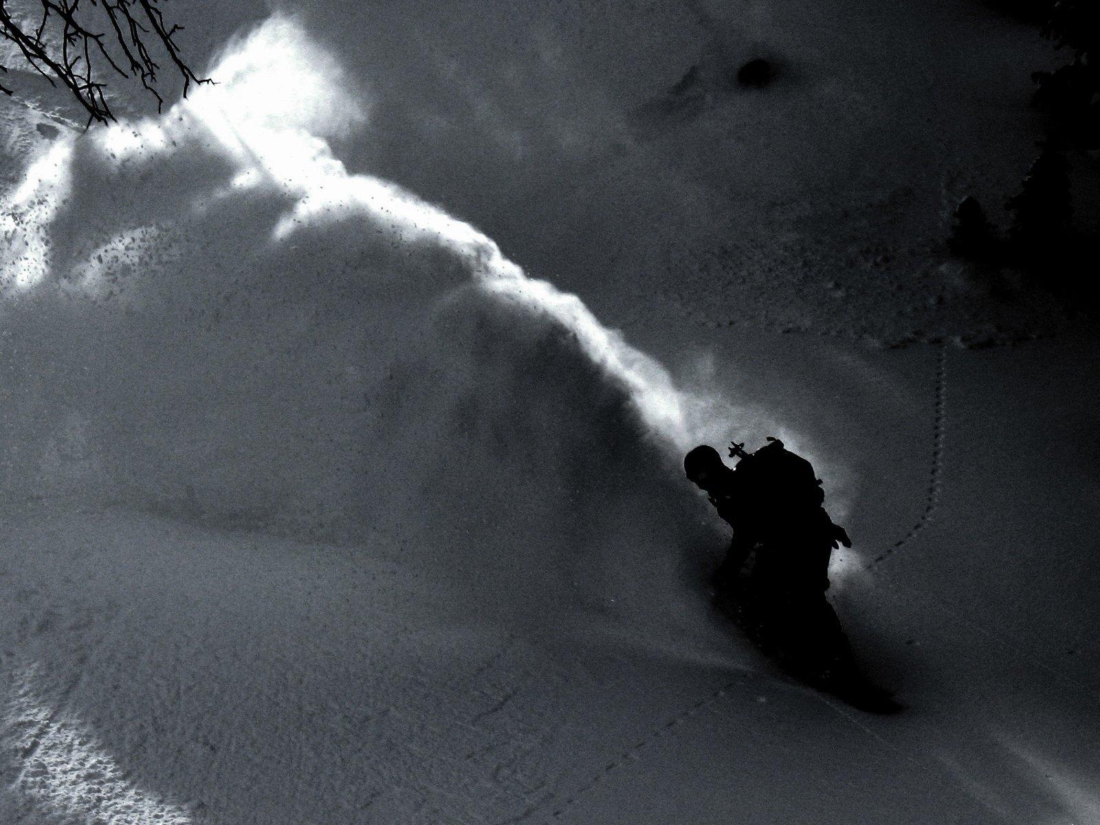 Powder wave at Berthoud Pass