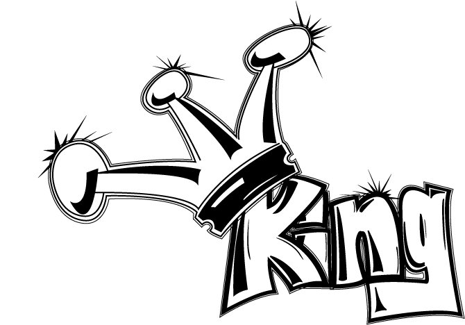 Illustrated King (original marsland sketch)