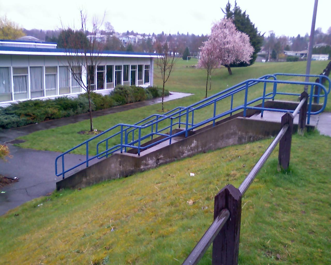Hand Rail at my school