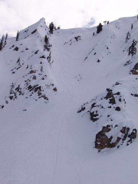 View of follow cam str8 line