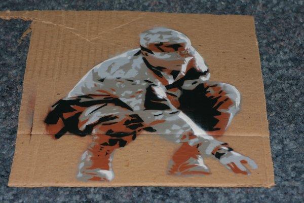 Soldier Cardboard