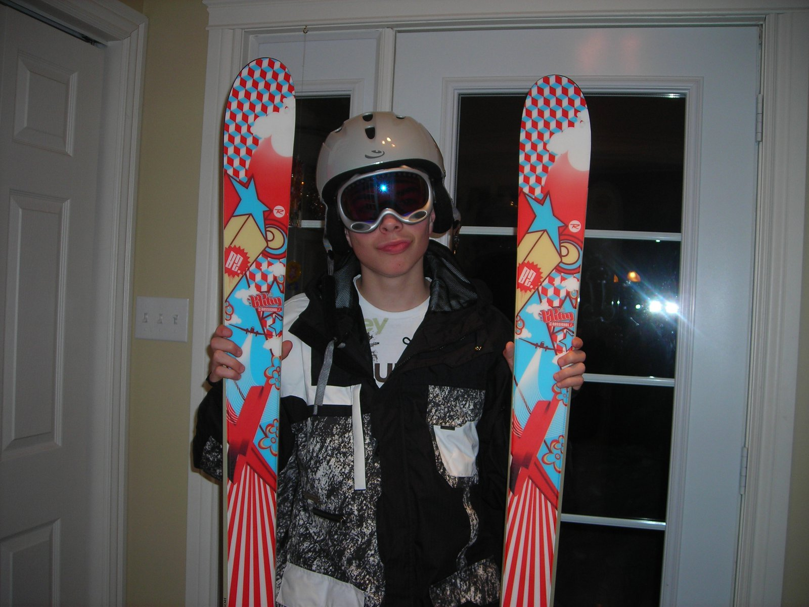 Moi with my skis