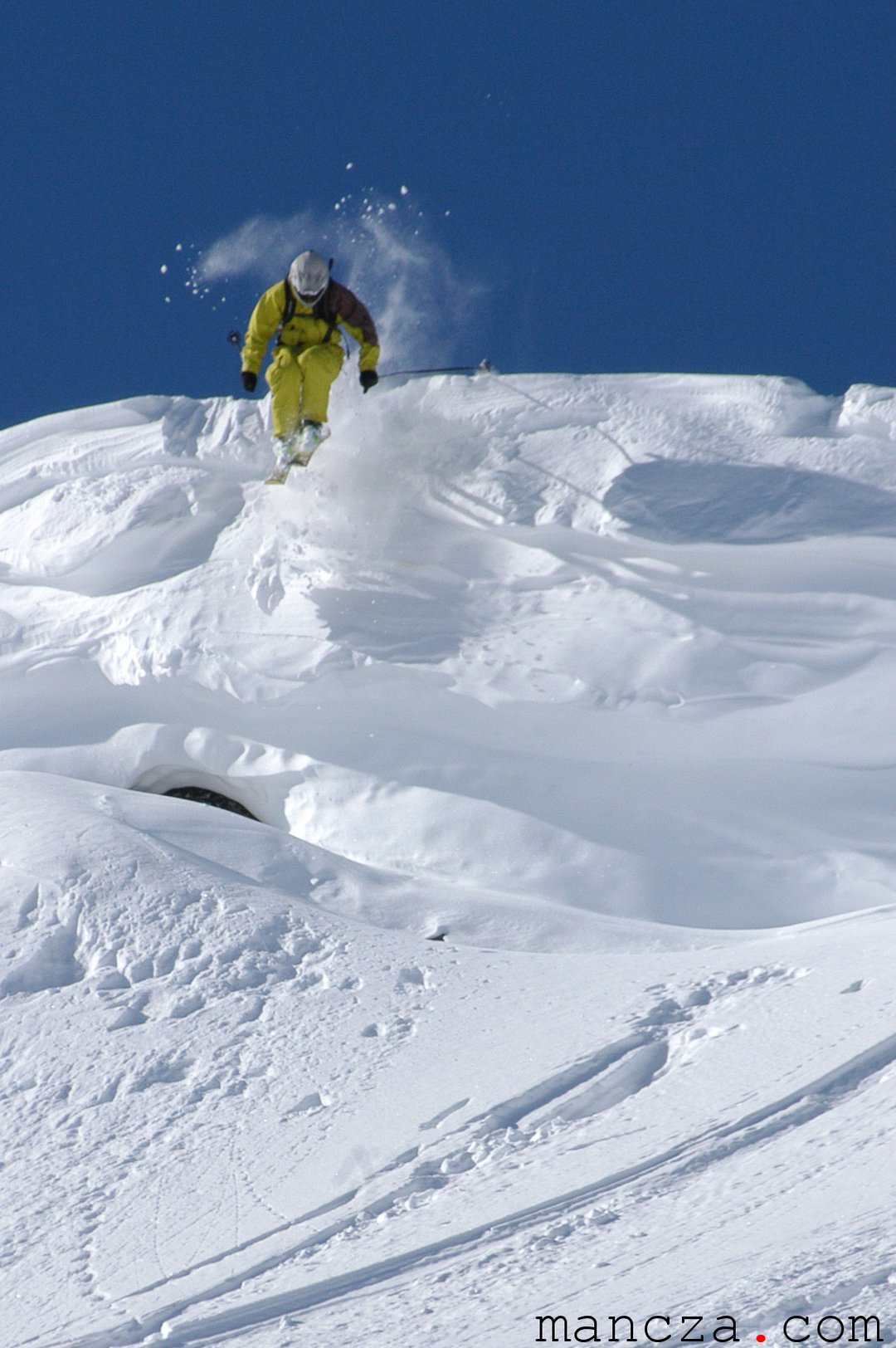 First steep into a line