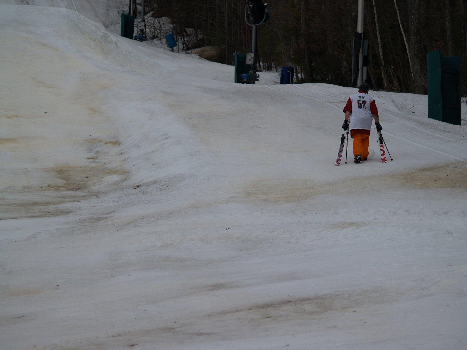 Melting snow = i hate cm