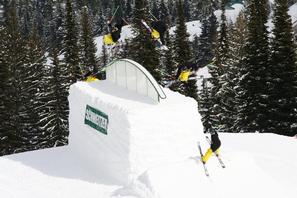 540 over rainbow box @ Schweitzer Jib Jam