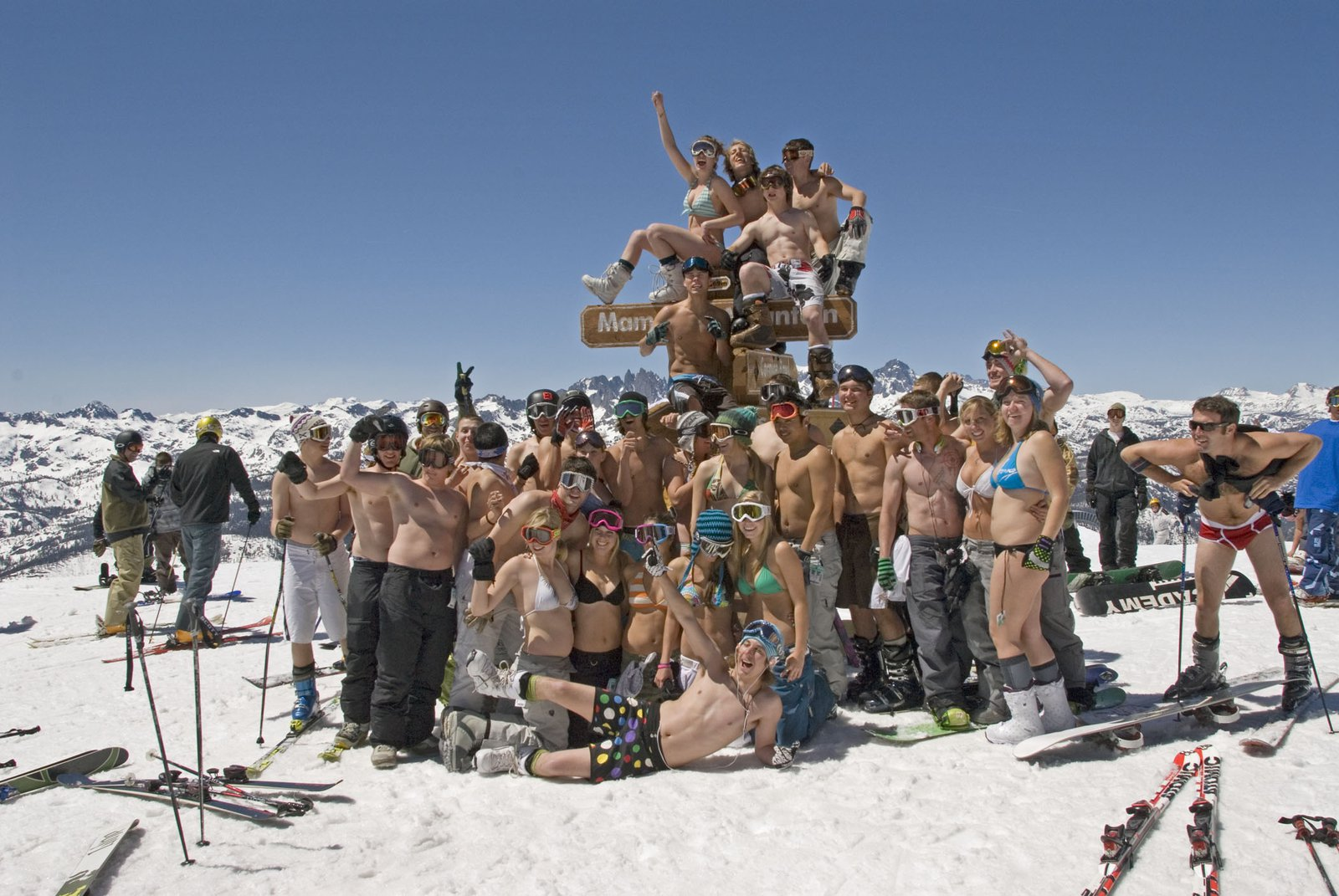 Peak of Mammoth Mountain