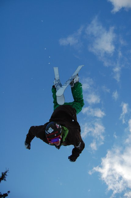 Sick backflip shot!