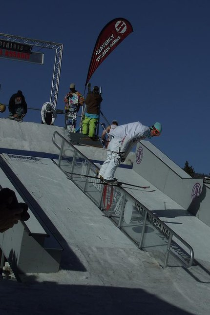 Heavenlys jackpot rail jam finals at mont bleu casino